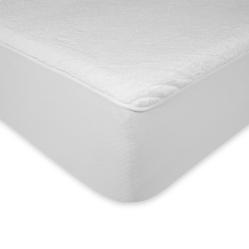Sleep Plush Mattress Protector Bed Sheet with Ultra-Soft and Waterproof Fabric, Twin