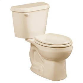 Colony Round Front Toilet - 10 Inch Rough-in - 1.6 gpf - Bone