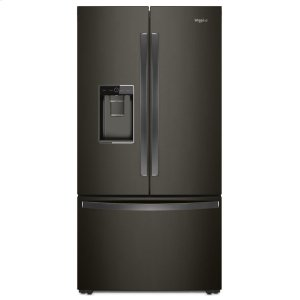 36-inch Wide Counter Depth French Door Refrigerator - 24 cu. ft. - FINGERPRINT RESISTANT BLACK STAINLESS