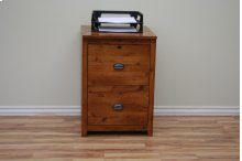 A-R646 Rustic Alder Letter/Legal File Cabinet