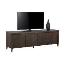 Greyson Media Stand - Brown