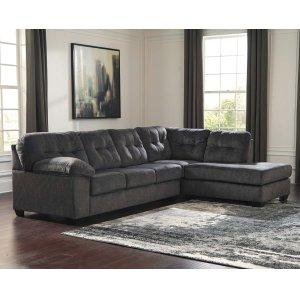 Ashley Furniture Accrington - Granite 2 Piece Sectional
