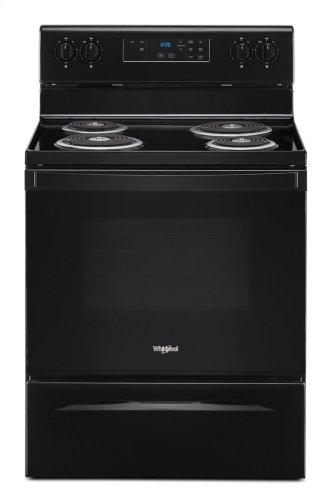 4.8 cu. ft. Whirlpool™ electric range with Keep Warm setting