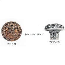 Glendale Court Knob Clear Crystal