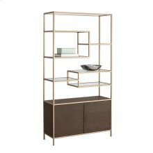 Stamos Bookcase - Brown