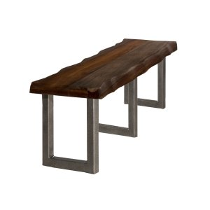 Hillsdale FurnitureEmerson Bench Gray Sheesham