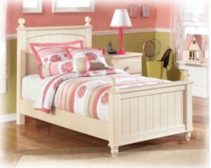 Ashley Vintage Casual Twin Poster Bed