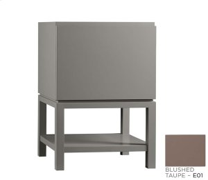 "Jenna 23"" Bathroom Vanity Base Cabinet in Blush Taupe Product Image"