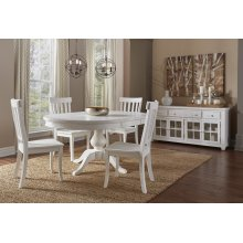 Madaket Round To Oval Dining Table With 4 Chairs