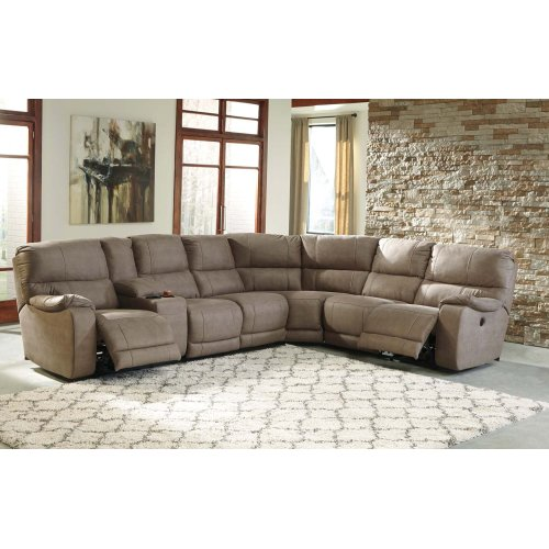 Bohannon - Taupe 3 Piece Sectional