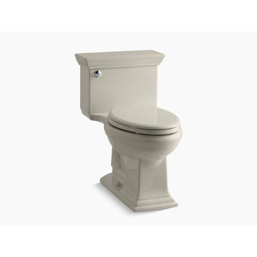 Sandbar Comfort Height One-piece Elongated 1.28 Gpf Toilet With Aquapiston Flushing Technology and Left-hand Trip Lever