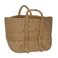 Jute Basket Natural Product Image