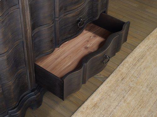 Bedroom Corsica Dark Eight Drawer Dresser