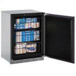 """24"""" Freezer With Integrated Solid Finish (230 V/50 Hz Volts /50 Hz Hz)"""