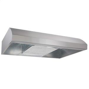 Broan® 30-Inch 4-Way Convertible Under-Cabinet Range Hood, 270 Max CFM, Stainless Steel - STAINLESS STEEL