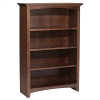 "CAF 48""H x 30""W McKenzie Alder Bookcase Product Image"