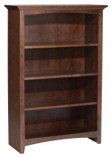 """CAF 48""""H x 30""""W McKenzie Alder Bookcase"""