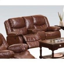 Brown Loveseat , Console
