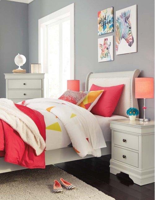 Ashley - Jorstad Twin Sleigh Bed
