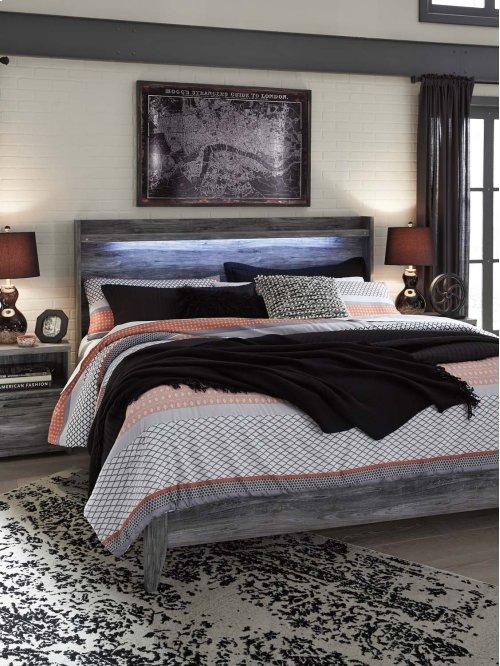 Baystorm - Gray 2 Piece Bed Set (King)