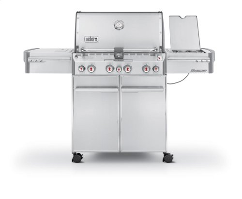 SUMMIT® S-470™ LP GAS GRILL - STAINLESS STEEL