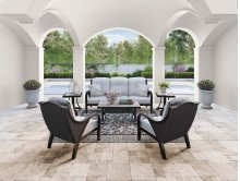 Marsh Creek - Brown 3 Piece Patio Set