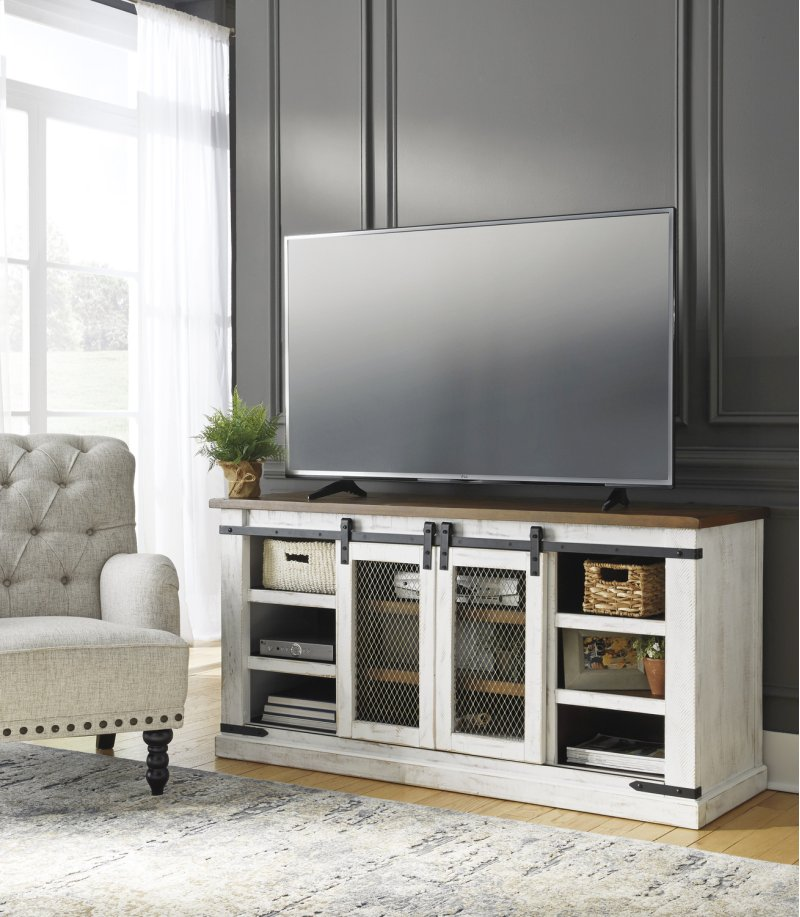 W54948 In By Ashley Furniture In Rochester Ny Large Tv Stand