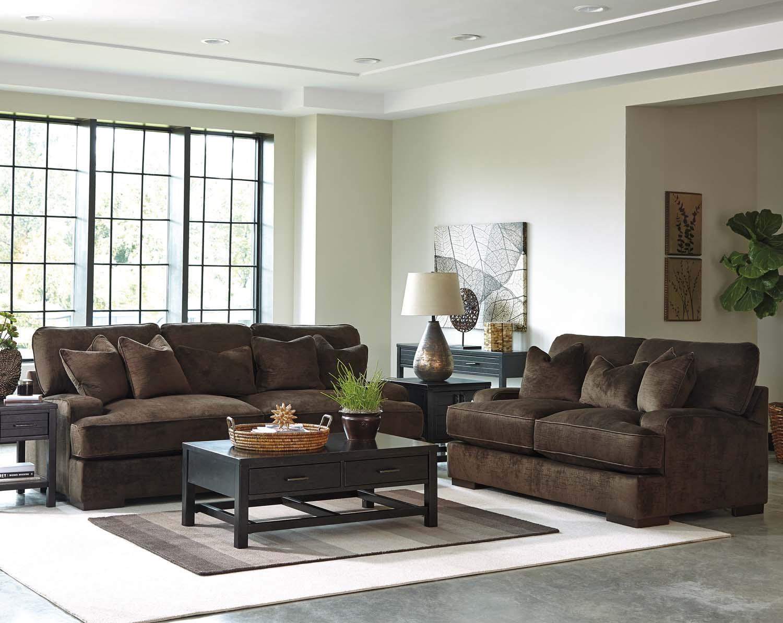 Ashley 65306 Bisenti   Chocolate Living Room Set Houston Texas USA Aztec  Furniture