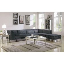 Cassandra Contemporary Corner Sofa