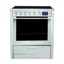 "Electric Range - 30"" stainless steel freestanding electric range"