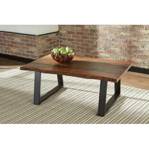 Industrial Grey Sheesham Coffee Table