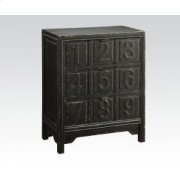 Ant. Black Console Table Product Image