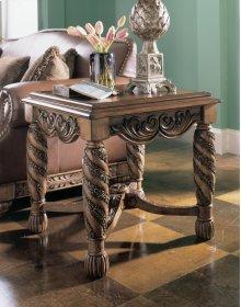 Rectangular End Table/maretto