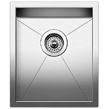 Blanco Precision 16'' Medium Bowl (vertical Orientation) - Satin Polished Finish