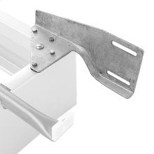 Universal 6HB Headboard Bracket for Steel Pedestal Bed Bases, 2-Pack