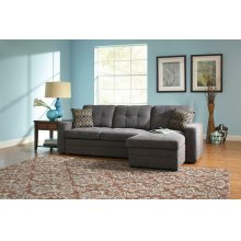 Gus Casual Charcoal Sectional
