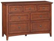 GAC 7-Drawer McKenzie Dresser Product Image