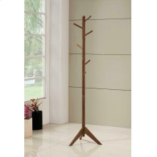 Traditional Brown Coat Rack