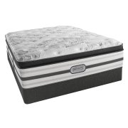 Beautyrest - Platinum - Hybrid - Romeo - Plush - Box top - Queen Product Image