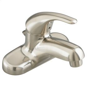Colony Soft Single Hole Faucet  Metal Drain American Standard - Brushed Nickel