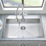 American StandardEdgewater 33x22 Stainless Steel Kitchen Sink  American Standard - Stainless Steel