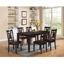 ESPRESSO 7PC PACK DINING SET