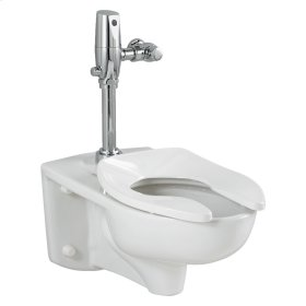 1.1 GPF Afwall System with EverClean Flush Valve - White