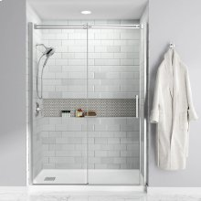 Studio 60x32-inch Acrylic Shower Base - Left Side Drain  American Standard - White