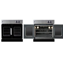 Residential Wall Oven, French Door Wall Oven , Black Color