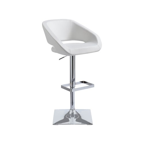 Gustavo Adjustable Stool - White