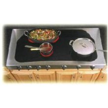 """48"""" Electric Cooktop without Backsplash"""
