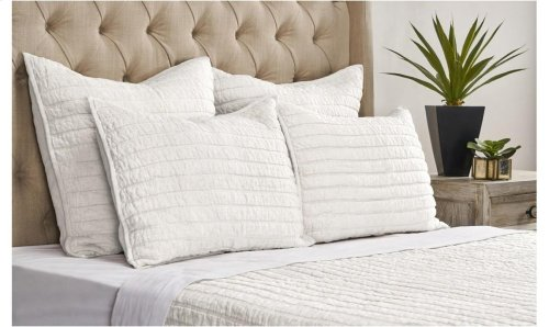 Heirloom Ivory Quilt 4Pc King Set