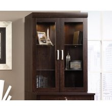 Hutch With Glass Doors
