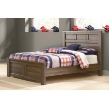 Juararo - Dark Brown 3 Piece Bed Set (Full)